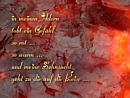 in meinen Adern tobt ein Gefühl, so rot ..., so warm ..., und meine Sehnsucht geht zu Dir auf die Reise ...