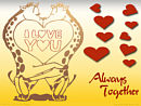 I love you - always together