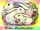 Frohes Osterkuscheln
