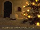 ein gesegnetes, friedvolles Weihnachten
