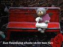 Zum Valentinstag schenke ich Dir mein Herz
