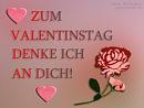 Zum Valentinstag denke ich an Dich