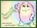 fröhliche Ostergrüße (und lass dich nicht in die Pfanne hauen)