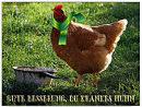 gute Besserung, du krankes Huhn