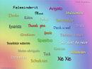 danke in allen Sprachen