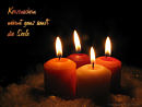 Kerzenschein wärmt ganz sanft die Seele