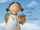 himmlische Grüße zur Adventszeit