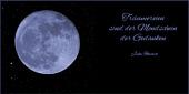 Träumereien sind der Mondschein der Gedanken