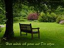 Hier w�rde ich gerne mit Dir sitzen