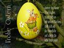 Kommt das kleine Osterhäschen, stupst dich an mit seinem Näschen ...