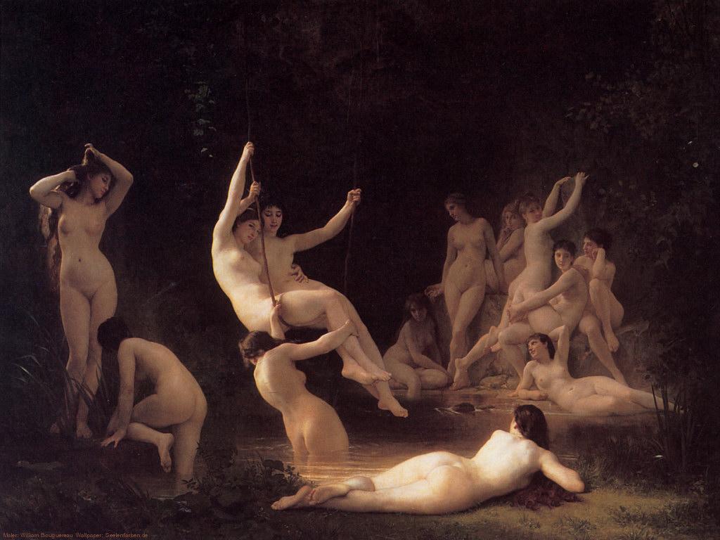 Kunst feine Galerie nackt