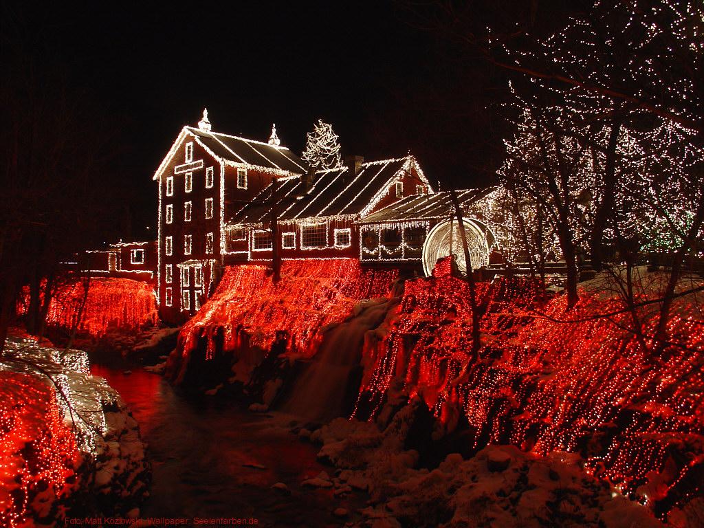 Seelenfarben Weihnachten.Clifton Mill Lichterhaus Weihnachten