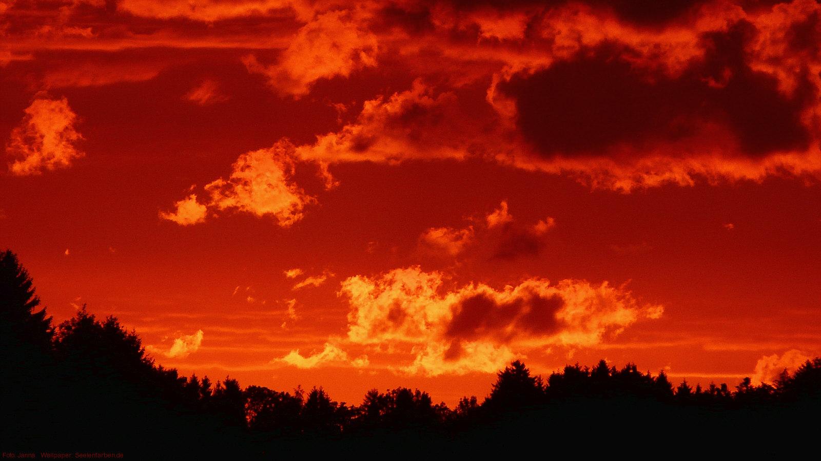 Himmel Rot